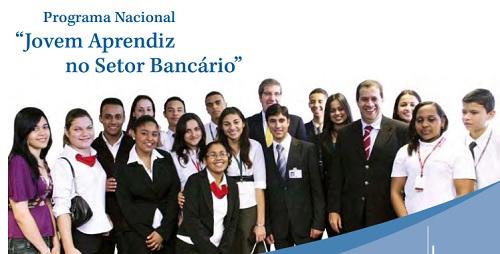 jovem aprendiz bancos