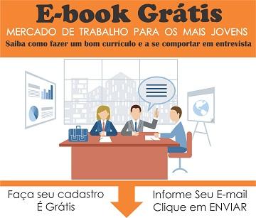 capa do ebook mercado de trabalho para os mais jovens