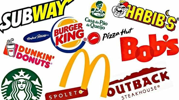 lista de empresas de fast food para trabalhar como jovem aprendiz