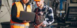 curso de formação para jovem aprendiz na área industrial