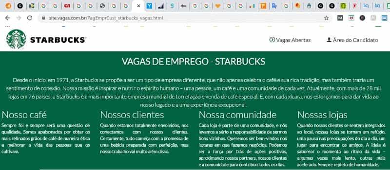 cadastrar currículo para jovem aprendiz Starbucks